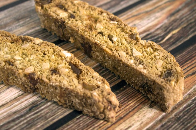 Ginger Almond Biscotti - Haus of Ariella